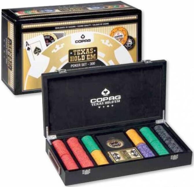 Valiza poker Luxury Copag 300
