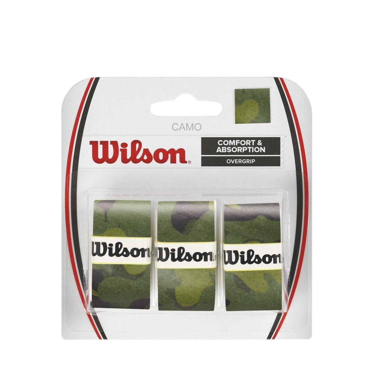Set overgrip Wilson Camo, verde, 3/set