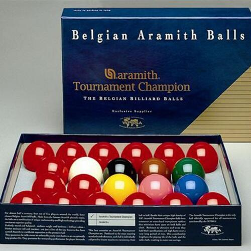 Set bile Aramith Tournament Snooker 52.4 mm