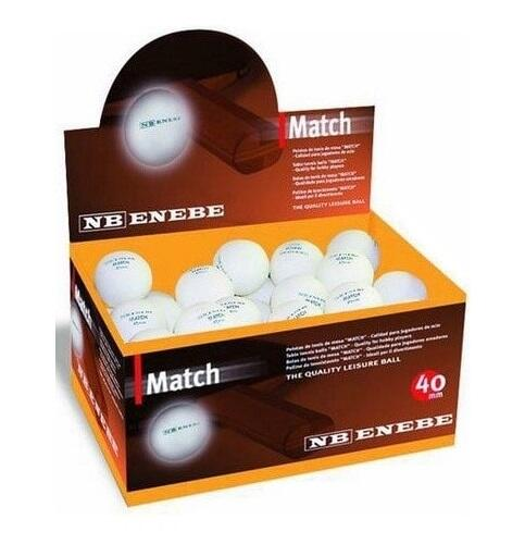 Bax mingi ping pong NB MATCH  40 mm (set de 60 buc)
